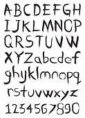 Black Ink Handwritten Fonts