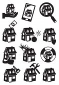 Property Icon Vector Illustration