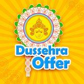 Dussehra Offer with goddess Durga