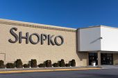 Shopko Store Exterior And Sign