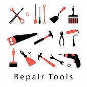 Icon Set Repair Tools