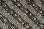 stock photo of batik  - Detail of a batik design from Indonesia - JPG