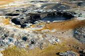 Hot Mud In Namafjall