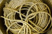Bundle Of Old Straw Rope
