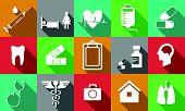 Medicine Icons White