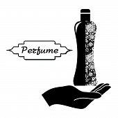 Perfume-and-hand Black