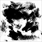 Black Spots On A White Background