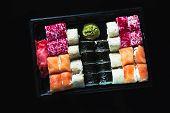 Japanese Food - Sushi And Sashimi
