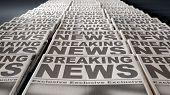 Newspaper Press Run End