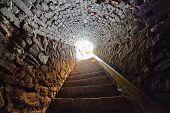 Tunnel Through Castle