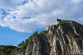 Fortified Citadel In Dinant, Belgium