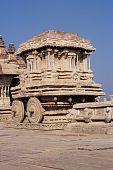 Pedra Chariot Hampi Índia