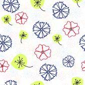 Naive floral pattern
