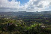 Inland Gran Canaria, View Towards Central Mountains
