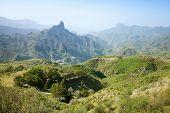 Gran Canaria, Caldera De Tejeda In January