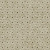 Beige Shell Tiles Pattern Repeat Background
