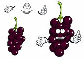 Cartoon currant berries