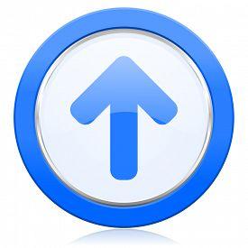foto of arrow  - up arrow icon arrow sign  - JPG