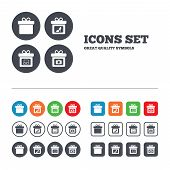 picture of shoe-box  - Gift box sign icons - JPG
