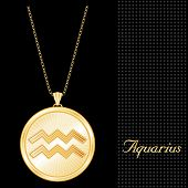 Aquarius Medallion