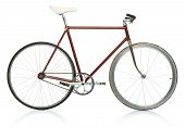 image of bicycle gear  - Stylish hipster bicycle  - JPG