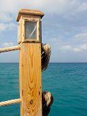 Pier am Roten Meer. El Gouna. Ägypten.