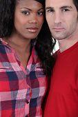 Portrait of a Metis couple