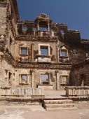 Chittorgarh Citadel Ruins In Rajasthan, India