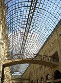 Shopping Arcade With Skylight