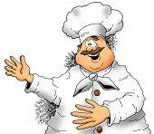 Chef Presenting