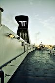Ferryboat deck
