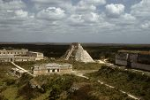 Pyramid And Mayan Architecture