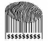 Dollar Sign On Barcode