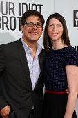 LOS ANGELES - AUG 16:  Rich Sommer; Virginia Sommer arriving at the