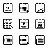 Blog Icons Set. Simple Set Of 9 Blog Vector Icons For Web Isolated On White Background poster