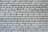 Background Texture Dirty White Brick Wall Or Masonry For Any Purpose poster