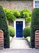 pic of english cottage garden  - Quaint English Country Cottage Garden in the city of Norwich - JPG