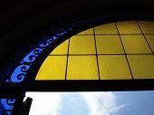 Gold Window & Sky