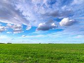 Summer landscape Grampians region, Australia