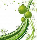 foto of seasons greetings  - Abstract christmas background - JPG