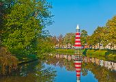 View At A Canal In The Dutch City Of Breda