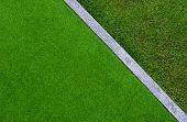 Artificial Grass, Architecture Decoration Design Of Grass Field Around Home, Artificial Grass, Fake  poster