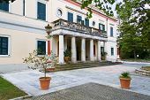 Mon Repo palace at Corfu, Greece