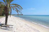 Beautiful beach at Chalkidiki in Greece