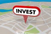 Invest Real Estate Property Asset Investment Buy 3d Illustration poster