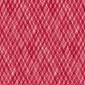 Watercolor Stripe Plaid Seamless Pattern. Red Color Diagonal Stripes On White Background. Watercolou poster