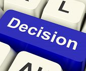 Decision Computer Key Representing Uncertainty And Making Decisions Online