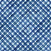 Watercolor Stripe Plaid Seamless Pattern. Blue Colored Stripes On White Background. Watercolour Hand poster