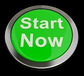 Start Now Button Meaning To Commence Immediately