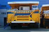 The Worlds Biggest Truck With Electric Drive System Consisting Of Four Electric Motors. Mining Two- poster